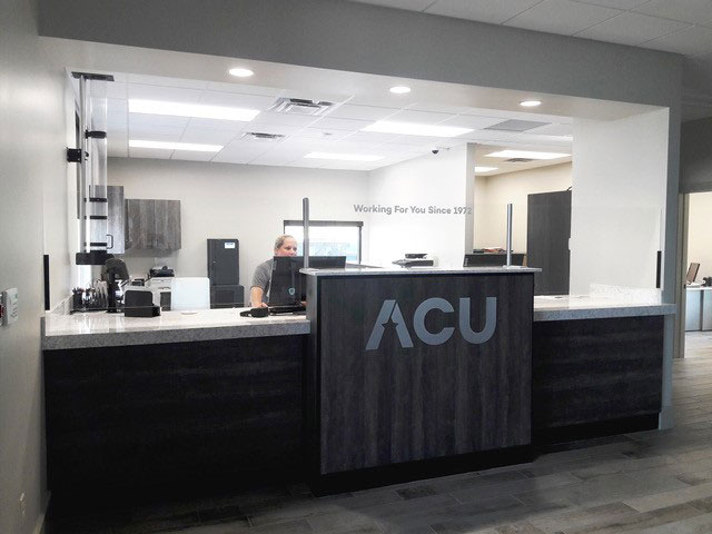 Appliance Credit Union Sign Installation