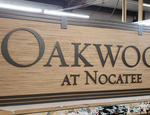 HDU (High Density Urethane) Signs with or without Woodgrain!